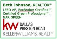 Beth Johnson, Realtor, Keller Williams Realty
