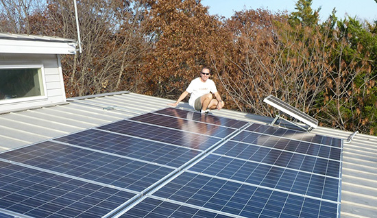 Westbrook House - DFW Solar Home Tour